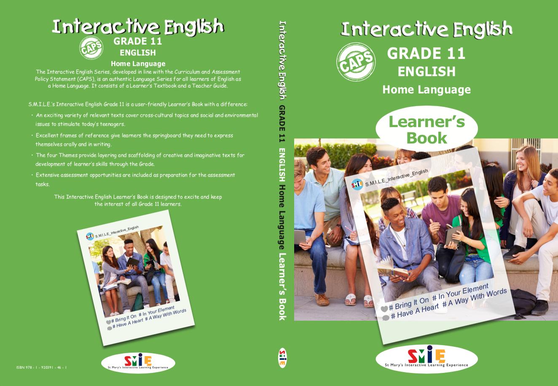 Grade 11 – Learner's Book