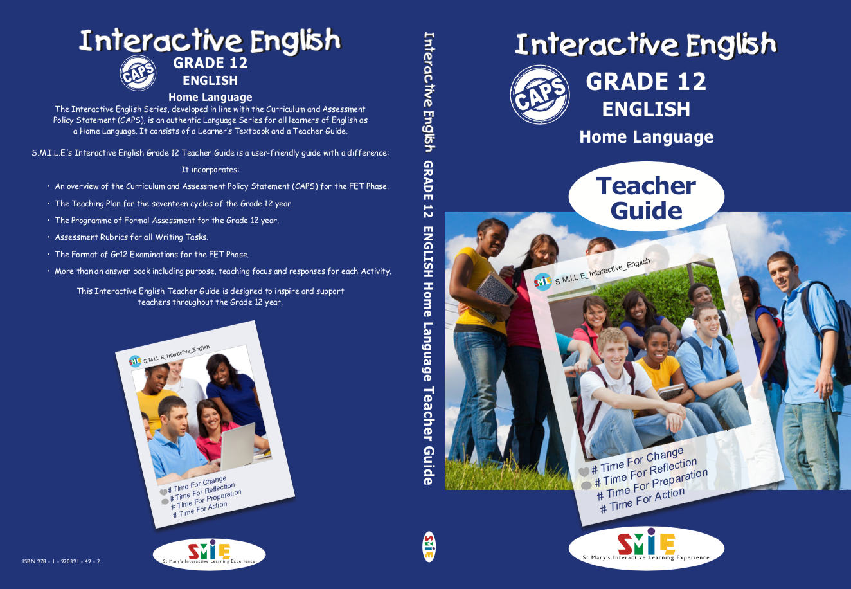 Grade 12 - Teacher Guide