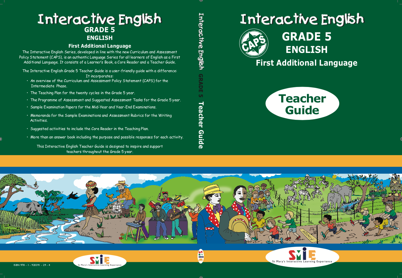 Grade 5 - Teacher Guide - First Additional Language