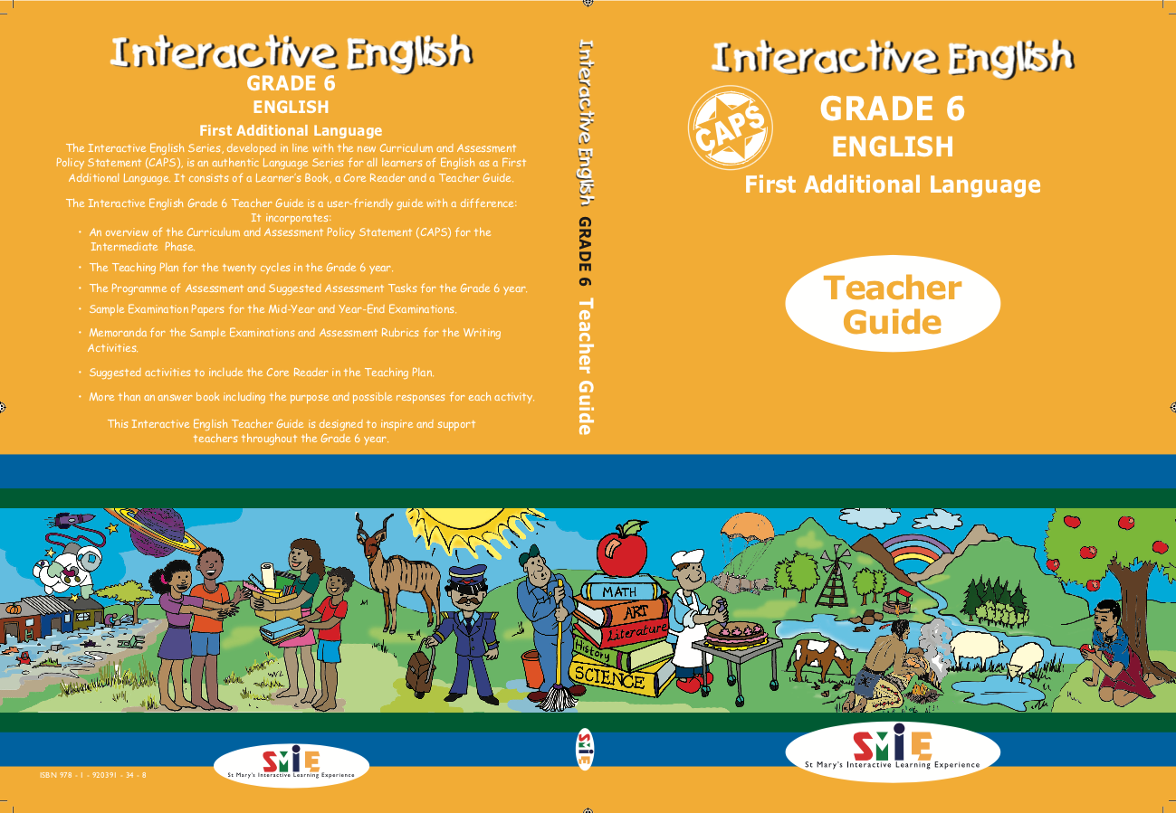 Grade 6 – Teacher Guide – First Additional Language