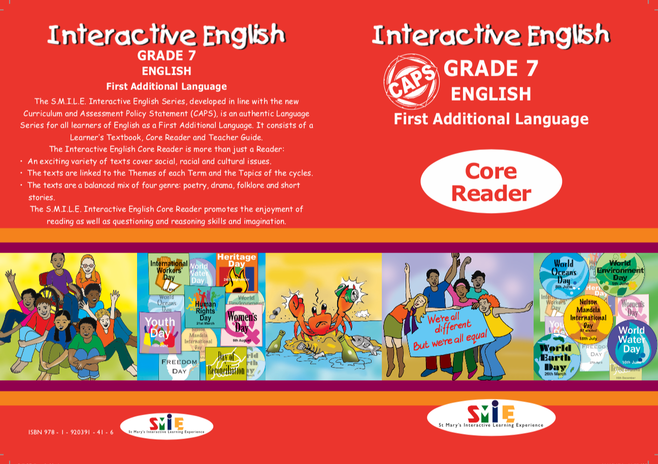 Grade 7 – Core Reader – First Additional Language