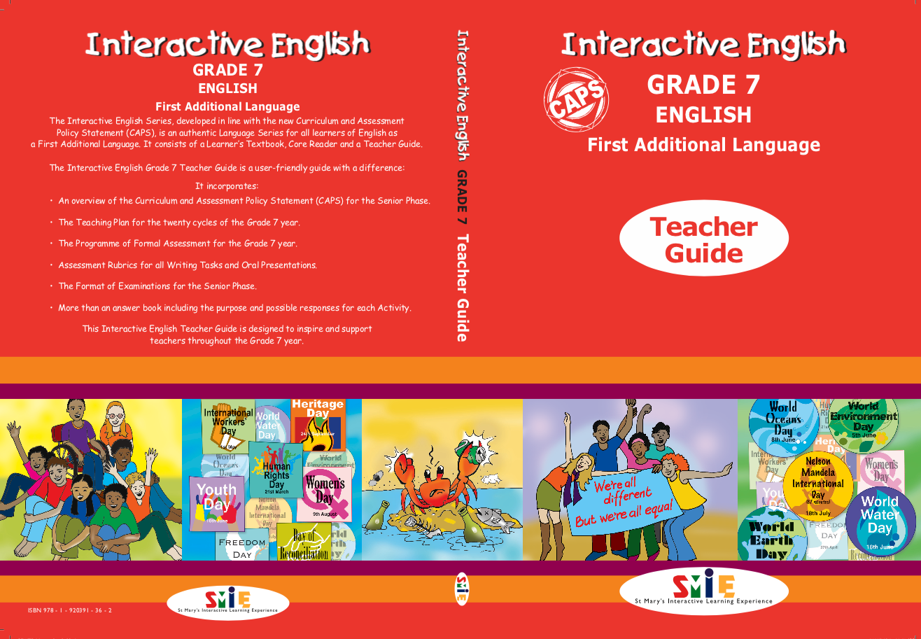 Grade 7 – Teacher Guide – First Additional Language