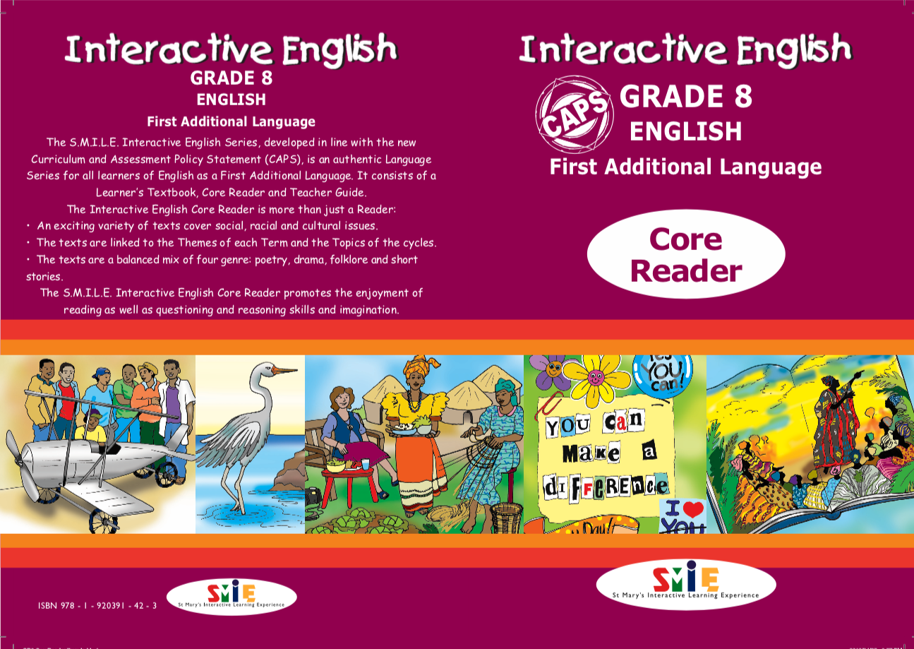 Grade 8 – Core Reader – First Additional Language
