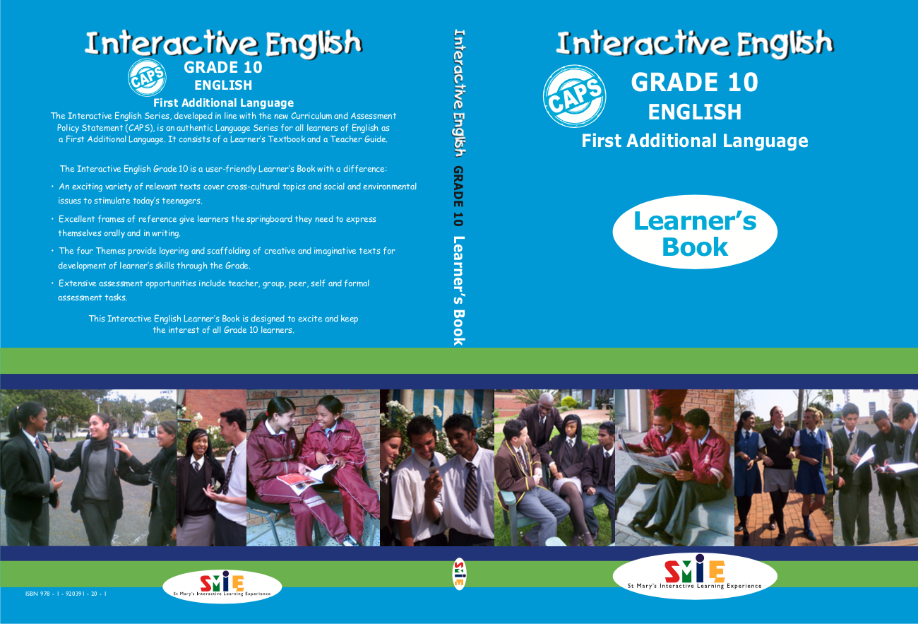 Grade 10 – Learner's Book – First Additional Language