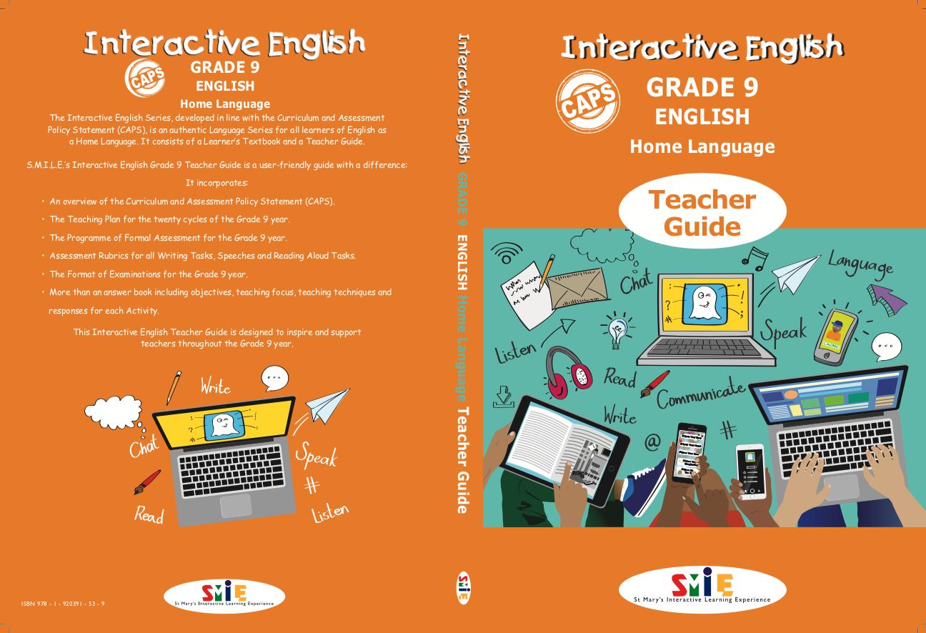 Grade 9 - Teacher Guide