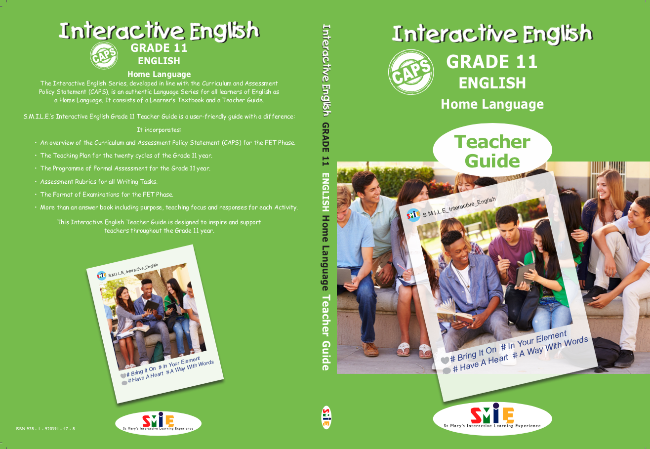 Grade 11 – Teacher Guide