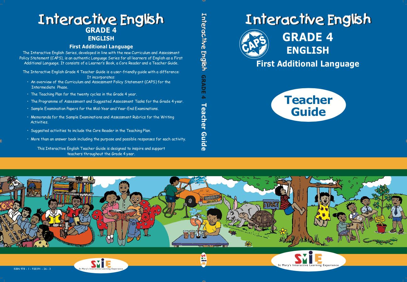 Grade 4 - Teacher Guide - First Additional Language