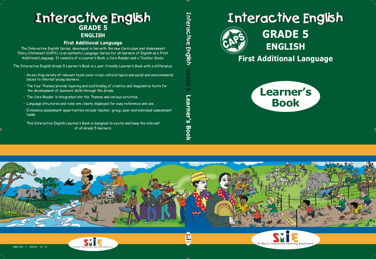 Grade 5 - Learner's Guide - First Additional Language