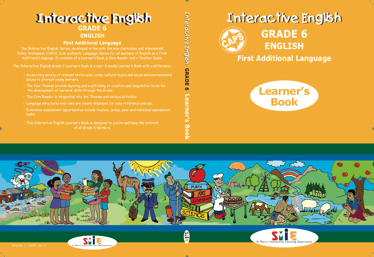 Grade 6 – Learner's Book – First Additional Language