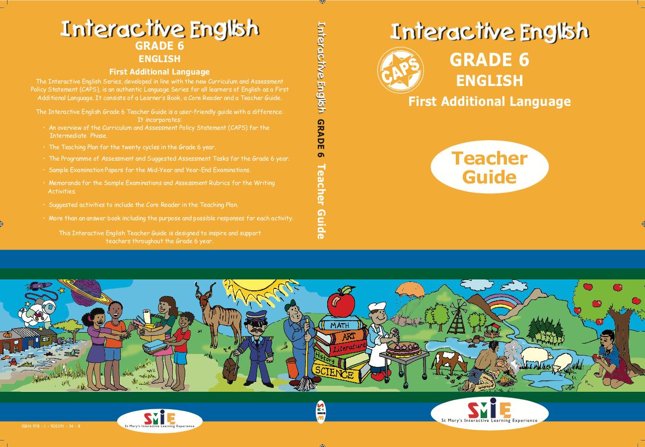 Grade 6 – Teacher Guide – First Additional Language