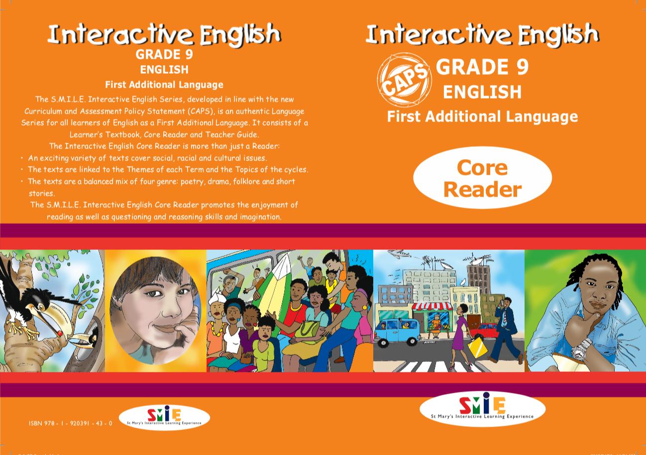Grade 9 – Core Reader – First Additional Language