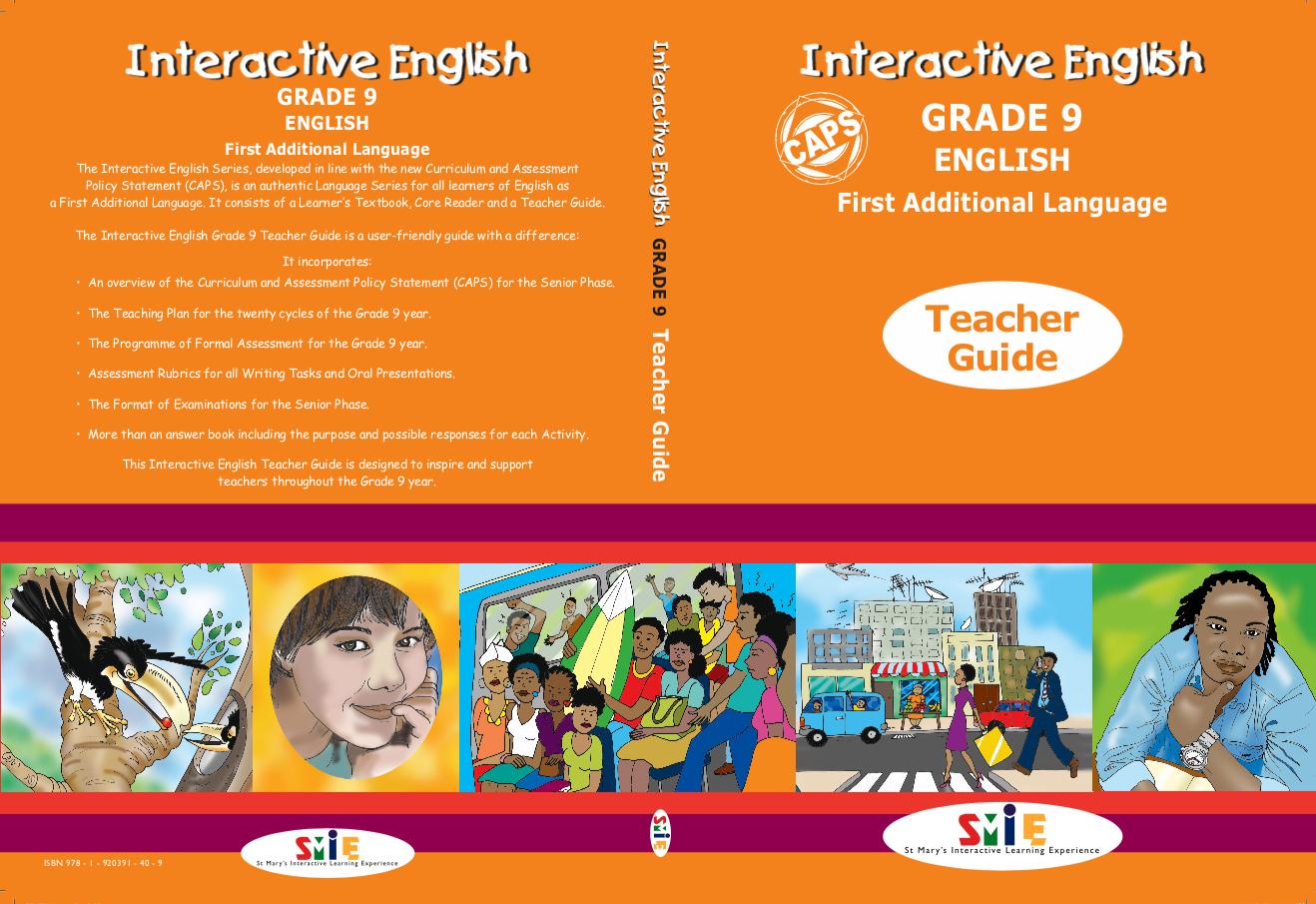 Grade 9 – Teacher Guide – First Additional Language