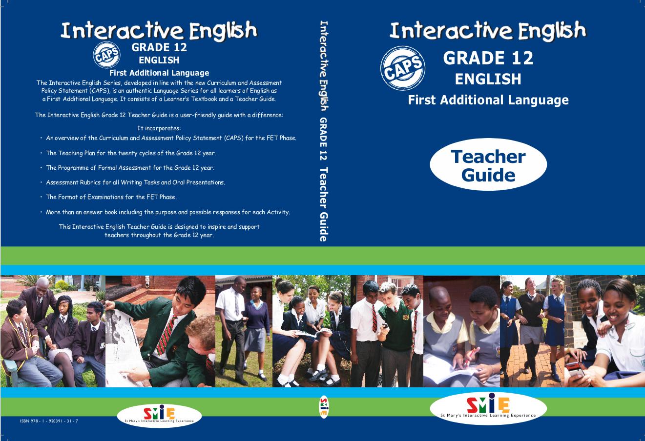 Grade 12 – Teacher Guide – F.A.L.